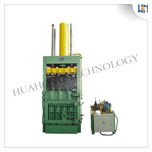 Vertical Waste Paper Cardboard Plastic Baler Machine for Recycling pictures & photos
