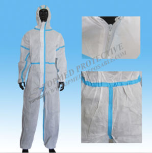 Disposable Nonwoven SMS Coverall, Disposable Protective Coverall Workwear pictures & photos