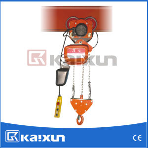 100% Copper Motor Moving Electric Hoist (HHDD-H0.5, HHDD-K3) pictures & photos