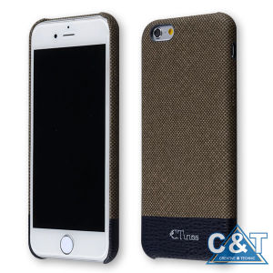 Protective Soft-Interior Leather Case for iPhone 6 Plus pictures & photos