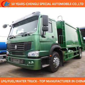Sinotruk 4X2 Big Capacity Compactor Garbage Truck for Sale pictures & photos