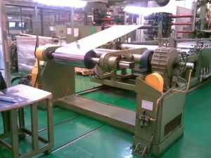 PVC Sheet Calender Production Line (400X1050) pictures & photos