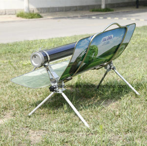 Unique Design Vacuum Tube Solar Cooker Camping BBQ pictures & photos