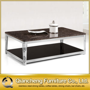 Modern Design Black Glass Coffee Table pictures & photos