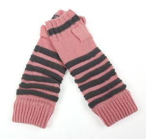 Lady Fashion Acrylic Knitted Winter Gloves Arm Warmer (YKY5450) pictures & photos