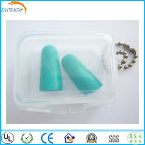 Custom Bell Shape PU Ear Plugs for Sleeping pictures & photos
