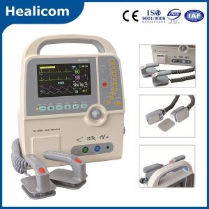 Portable Biphasic Defibrillator with Monitor (HC-8000C) pictures & photos