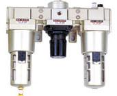 Pneumatic Three Combination Air Preparation Unit pictures & photos