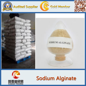 Food Grade Sodium Alginate with High Purity CAS pictures & photos
