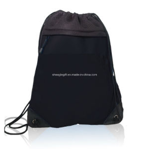 Deluxe Microfiber Front Mesh Backpack Bag pictures & photos