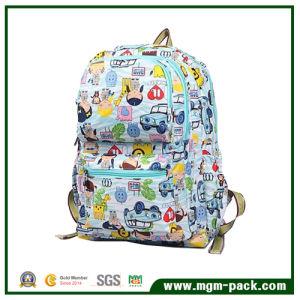 Cute Fashion Custom Cartoon Canvas School Backpack Bag pictures & photos