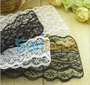 Different Designs Fashion Polyester Lace for Wedding Gown pictures & photos
