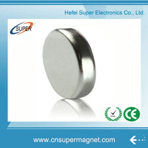 N42 Strong Permanent Disc Rare Earth Neodymium NdFeB Magnet pictures & photos