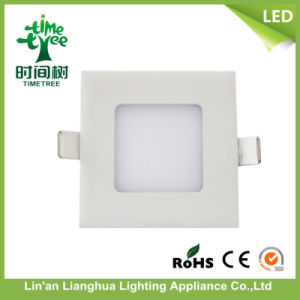 3W Square Round 3000k 6000k LED Panel, LED Panel Light pictures & photos