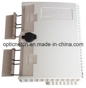Hot Sale 16 Core Plastic FTTH Outdoor Fiber Optic Termination Box pictures & photos