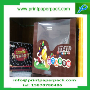 Chocolate Candy Paper Clear Window Box Food Packing Box pictures & photos