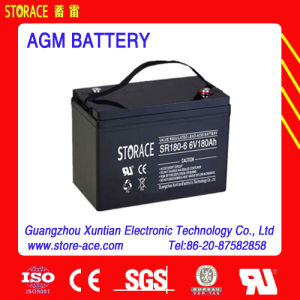 6V 180ah Rechargeable Battery AGM Accumulator pictures & photos