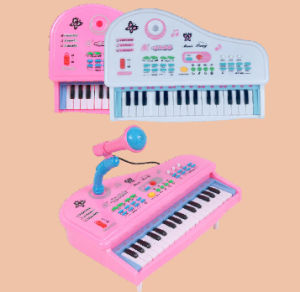 Multi-Function 37keys Plastic Electronic Organ Keyboard pictures & photos