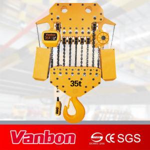 Heavy Load Electric Chain Hoist 35ton Fix Type Hoist pictures & photos