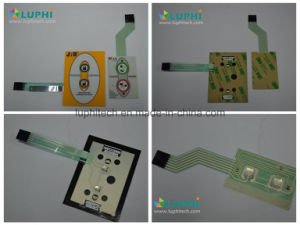 Shielding Membrane Switch Graphic Overlay Silk Screen Printing pictures & photos