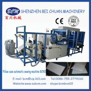 Automatic Sewing Machine for Pillow and Cushion Pocket Machinery in China pictures & photos