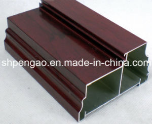 Best-Selling Classical Wood-Grain Aluminum Profile