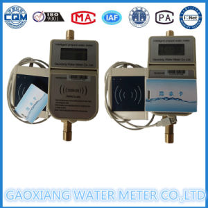 Gaoxiang Brand IC Card Prepaid Horizontal Water Meter Widely Exported pictures & photos
