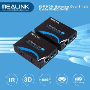 60m HDMI Extender Over Single Cat5e/6, HDMI V1.3 pictures & photos