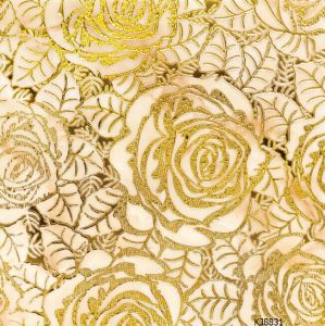 Gold Line Micro-Crystal Tiles with 800*800 Mm (KJ8831) pictures & photos