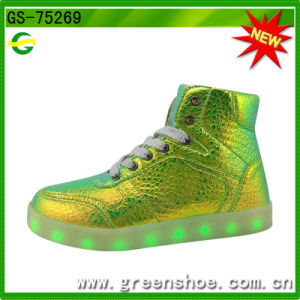 New Popular Fashion Luminous Light up Shoes for Kid (GS-75269) pictures & photos
