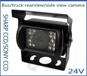 Waterproof IR Night Vision Bus/Truck Camera for Rearview/Side View CCD 24V