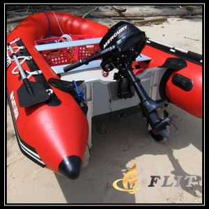 CE Approved PVC Aluminum Paddles Inflatable Boat Fishing Boat pictures & photos