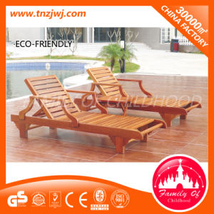 High Quality Wooden Deck Chair Outdoor Beach Chair for Sale pictures & photos