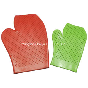 Rubber Grooming Gloves (PY-8502)