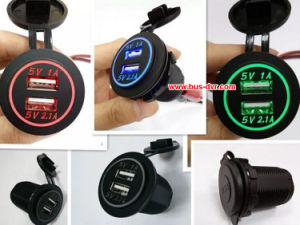 1/2/3/4 Ports Car USB Power Supply pictures & photos