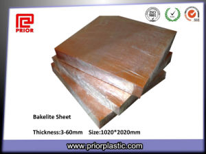 Pertinax Sheets/Phenolic Laminate Bakelite Sheets pictures & photos