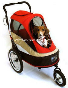 Pet Carrier Cage Home Cart Stroller Pet Trolley pictures & photos