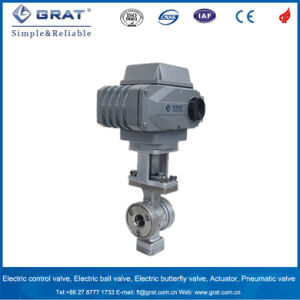 Tiny Flow Electric Regulating Ball Valve pictures & photos