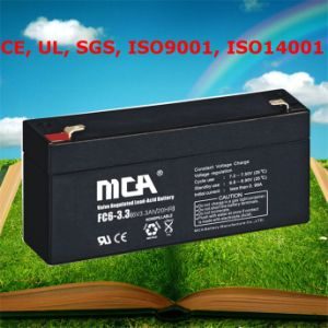 6 Volt Battery Dry Cell Portable Battery Back up 6V pictures & photos