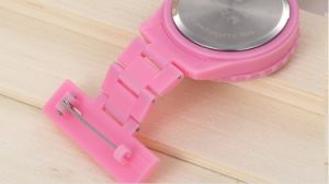 Trend Style Plastic Material Nurse Watch with Calendar pictures & photos