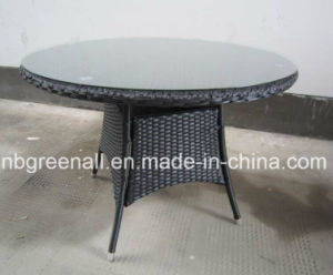 6 Persons Outdoor/Rattan/ Garden/ Dining Table Setting pictures & photos