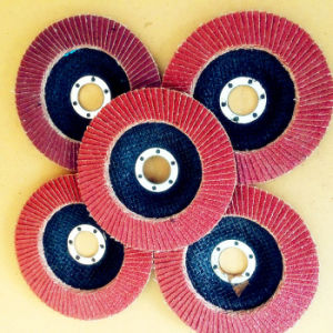 Aluminum Oxide for Wood and Metal Polishing Aluminum Oxide Flap Disc pictures & photos