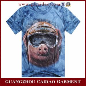 Custom Made Fancy Printed Animal 3D T-Shirt