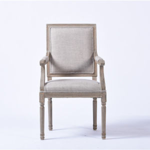 Square Back Hotel Chairs with Armrests