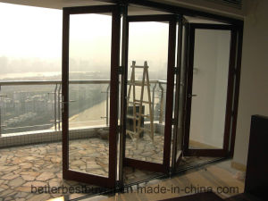 Modern Style High Quality Aluminum Bi-Folding Door pictures & photos