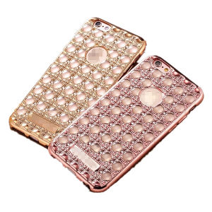Luxury Bling Diamond Electroplating TPU Case Cover for iPhone 6 6s pictures & photos