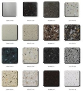 Cut-to-Size Stone Form Artificial Stone Solid Surface Wall Panel (M1711112) pictures & photos