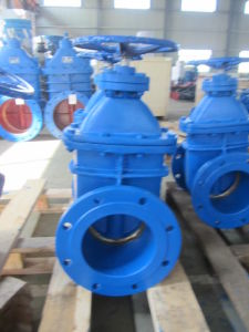 Metal Seated Gate Valve with Gear Operated