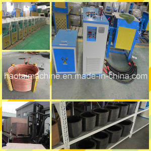 Factory Price Sale Small Induction Melting Furnace for Gold Melting pictures & photos