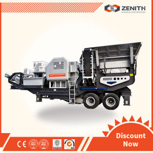 Zenith Mobile Jaw Crusher Plant with Large Capacity pictures & photos
